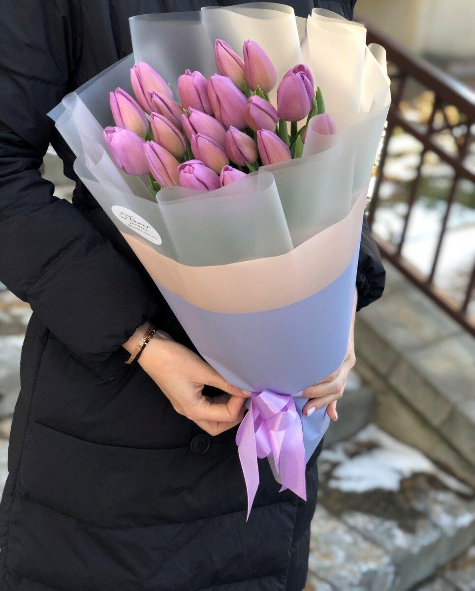 Букет тюльпанов Флирт