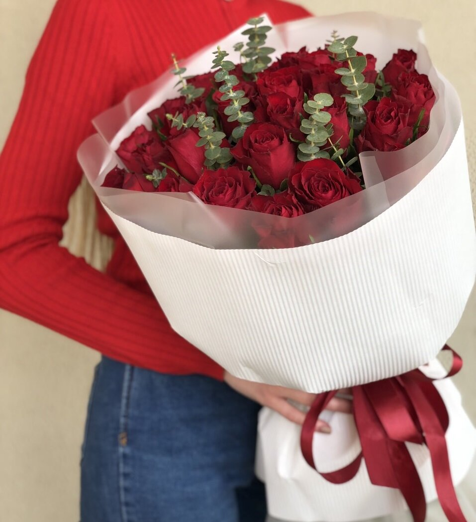 Букет из красных роз Той самой