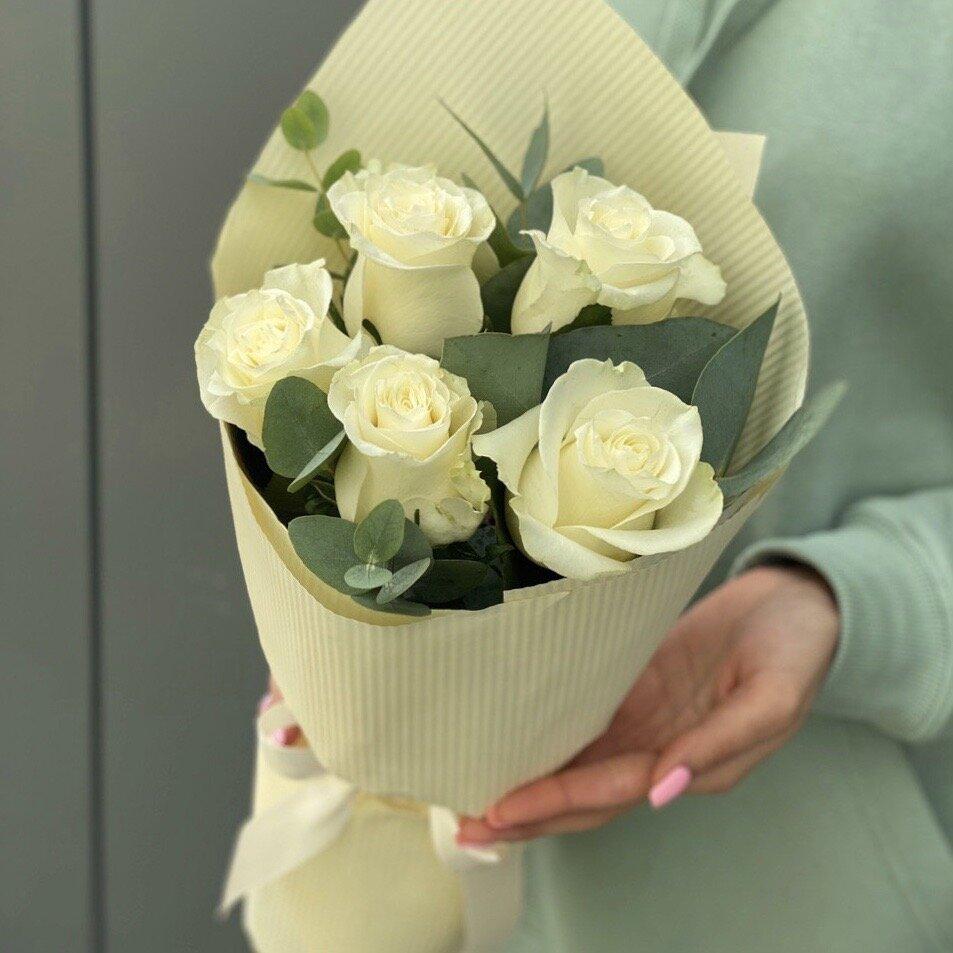 Букет из белых роз Для тебя