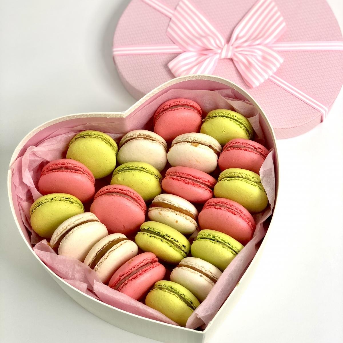 Подарочный набор Macarons 21 шт