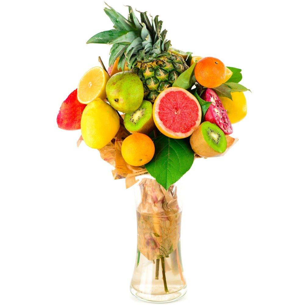 Заказать фруктовый букет одесса, розы