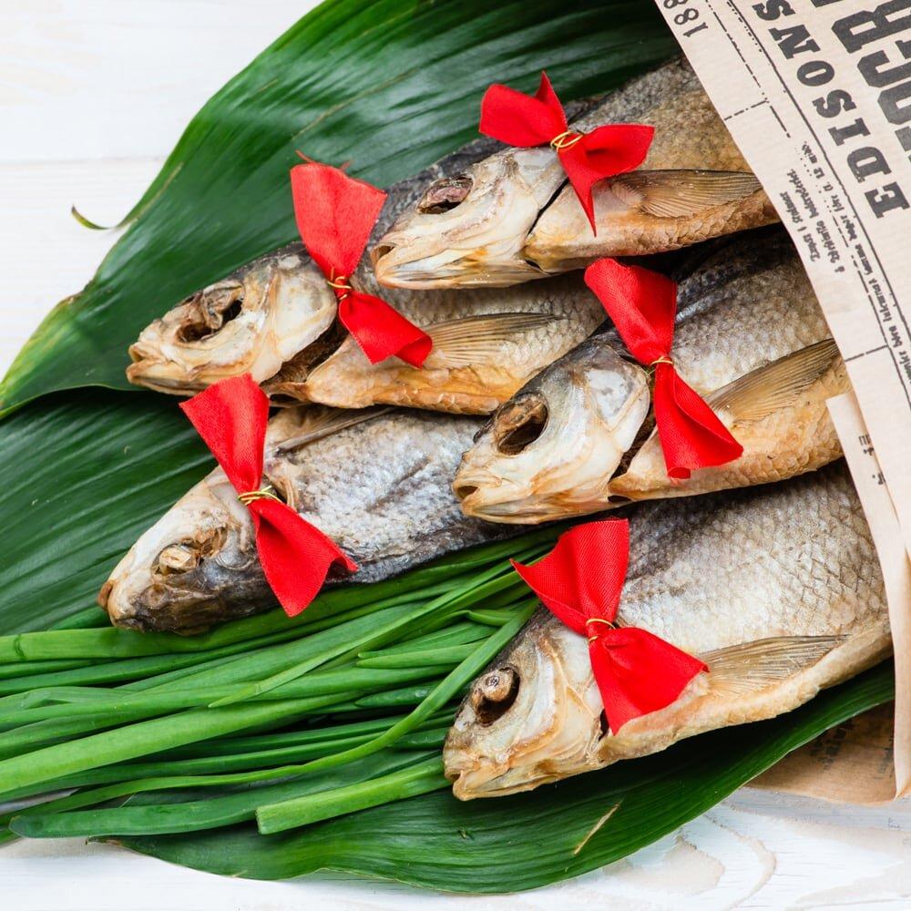 Букет из рыбы На привале