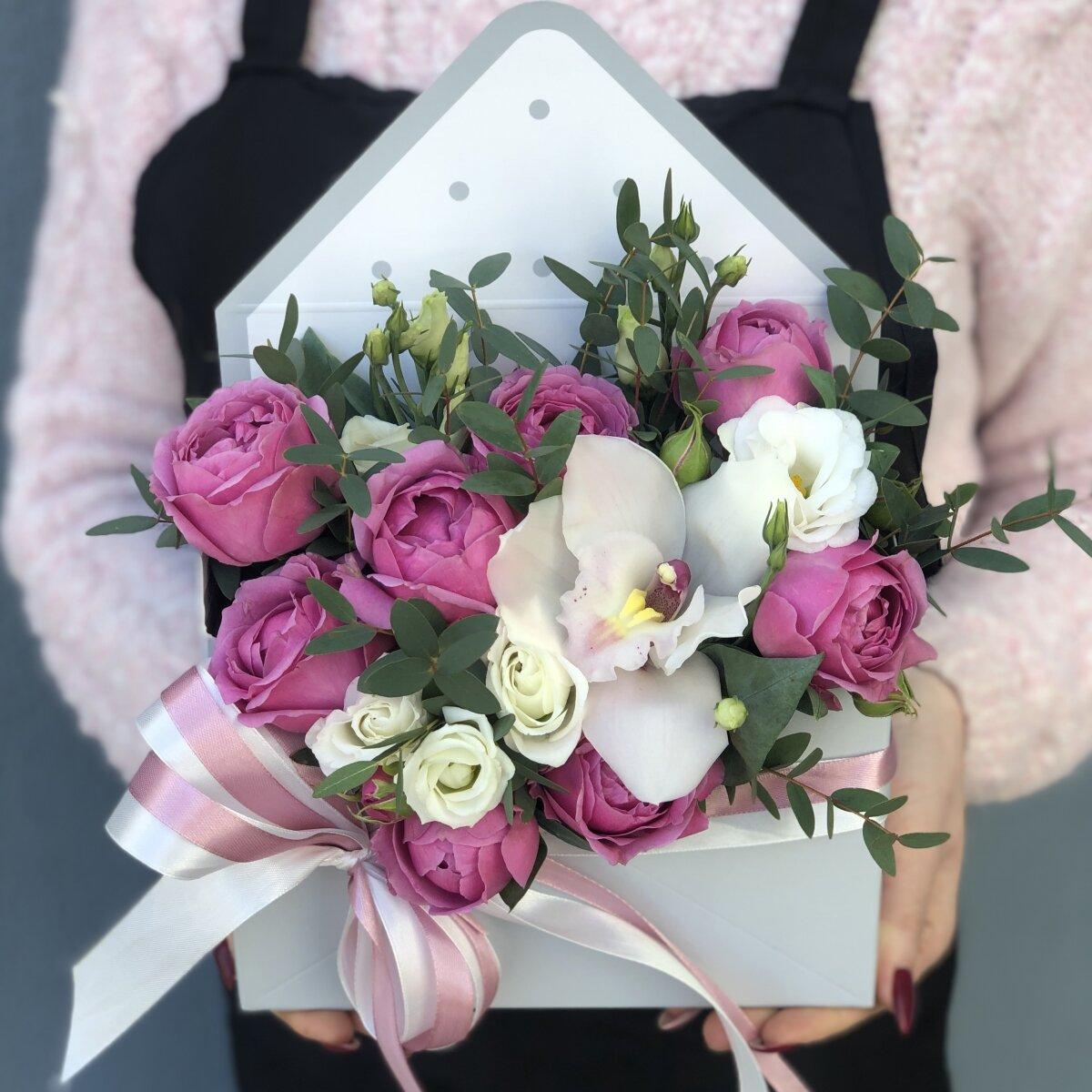 Конверт цветов Надин