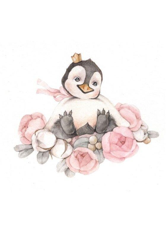 Открытка Пингвинчик
