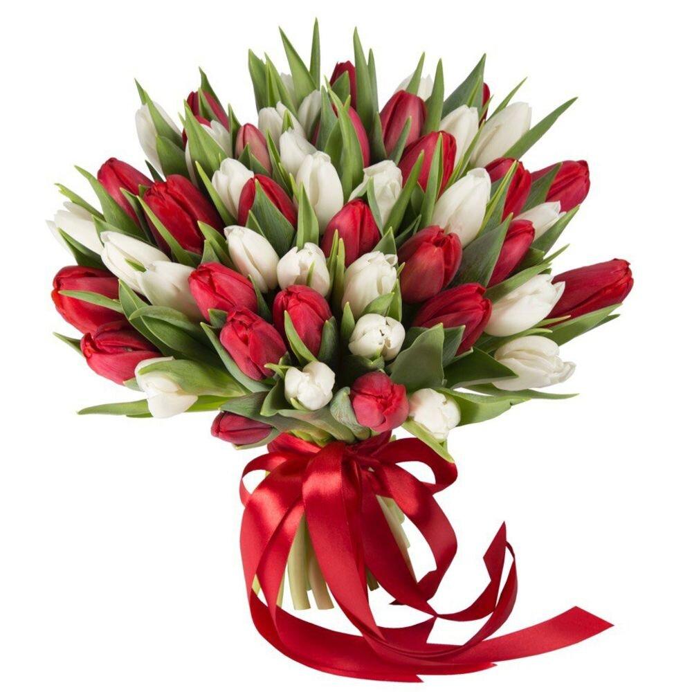 Букет из тюльпанов Адриана