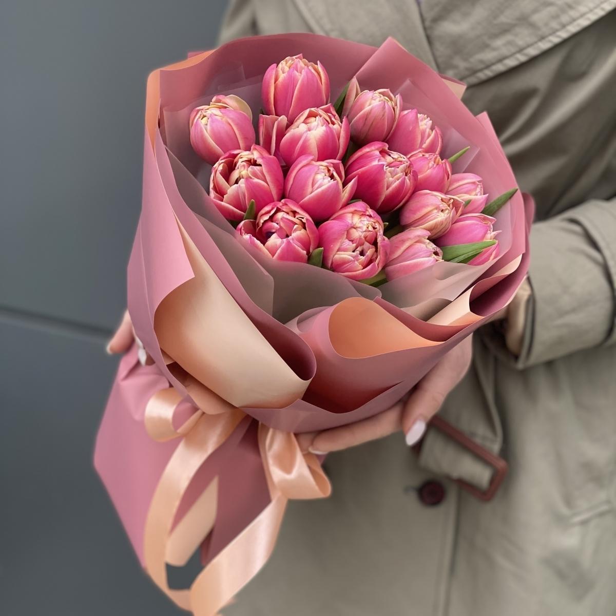 Букет тюльпанов Сладкий