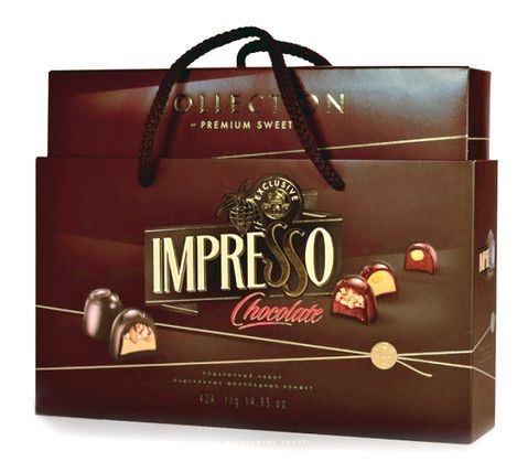 Подарочный набор шоколадных конфет Impresso Premium