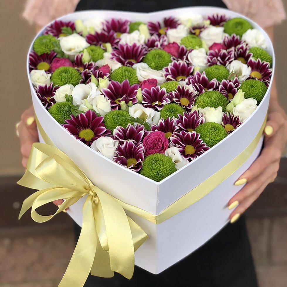 Коробка из цветов Красота момента