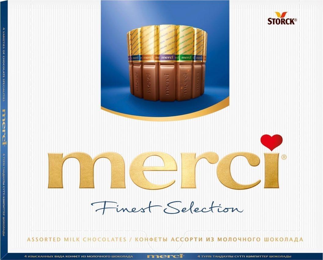 Шоколадные конфеты Merci