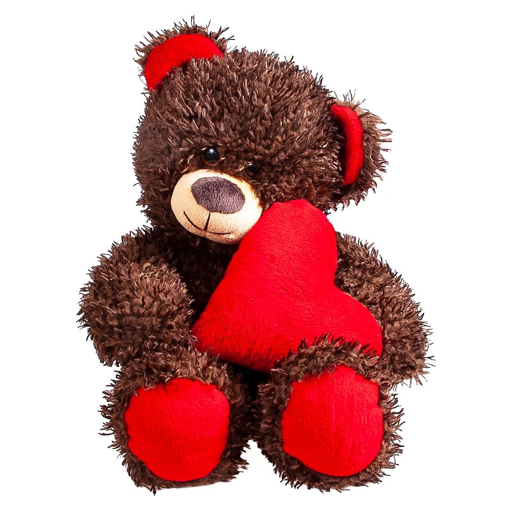 Медвежонок Чиба с сердцем