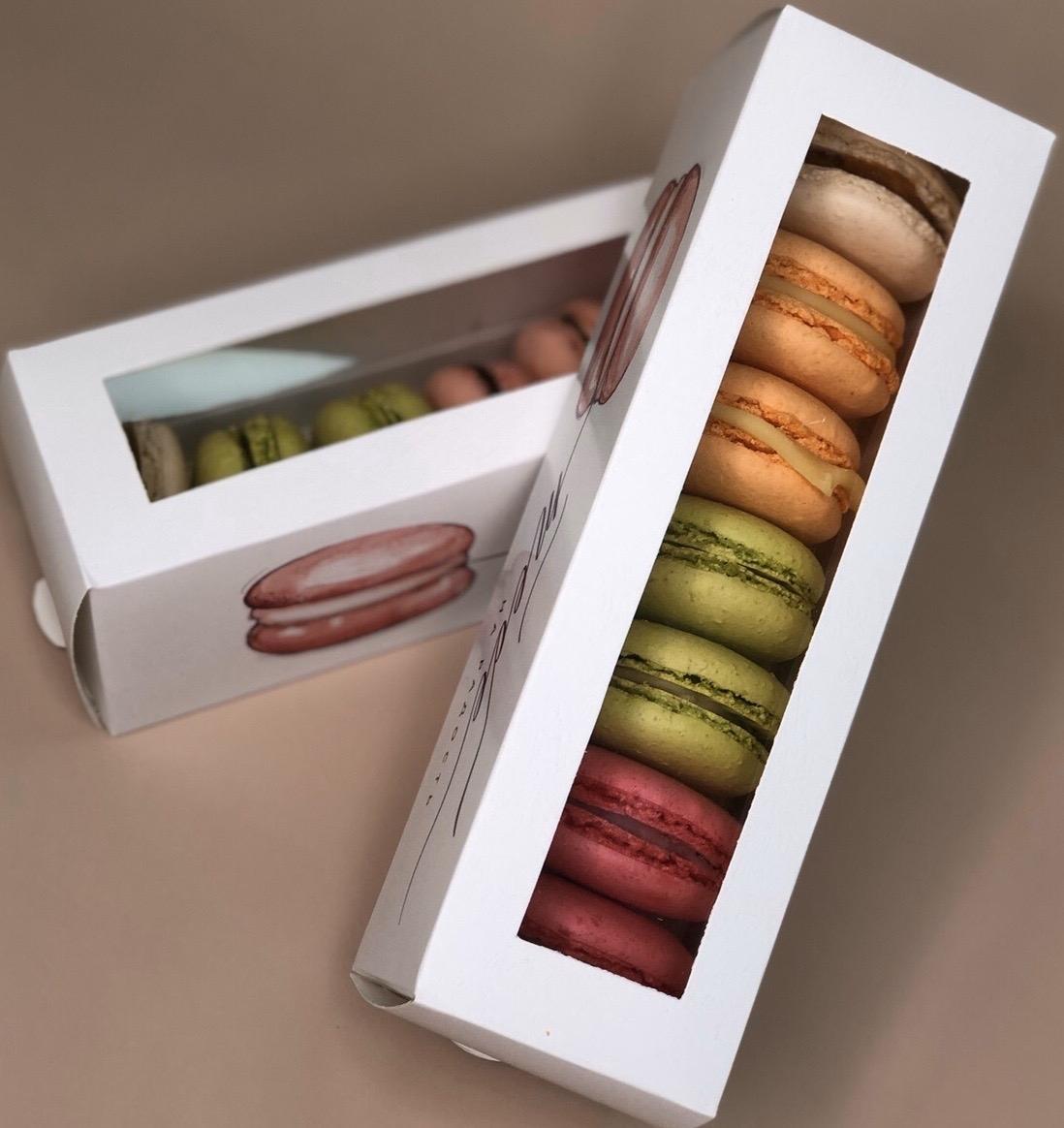 Подарочный набор Macarons 7 шт