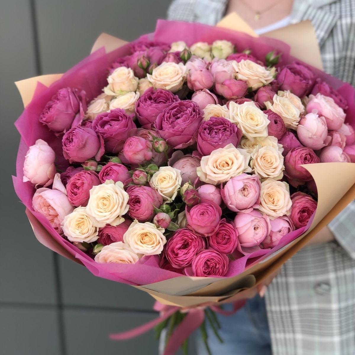 Букет из кустовых роз Филлис