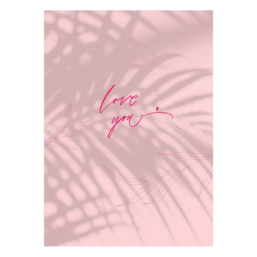 Откртыка Love you