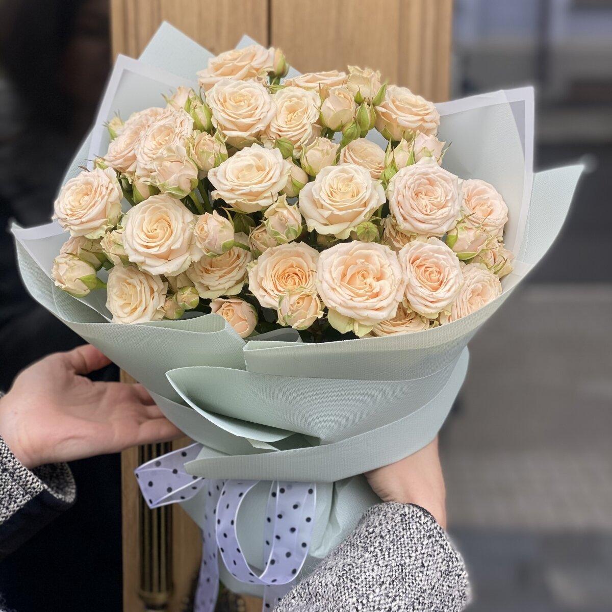 Букет Настроение из кустовых роз